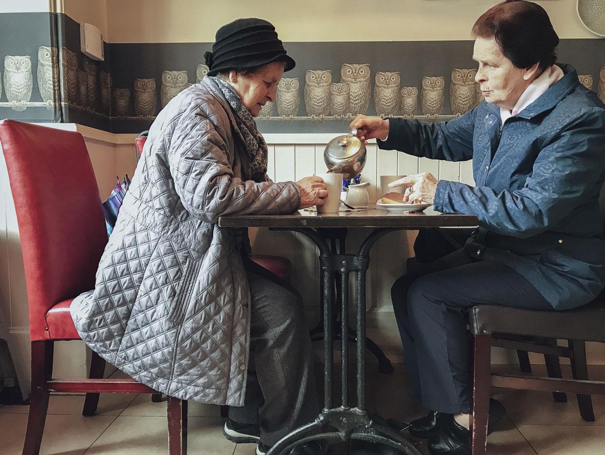 Irlandaises à l'heure du thé