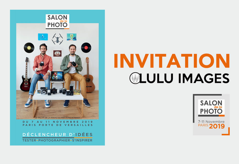 Invitation pour le Salon de la Photo